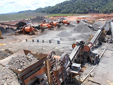 Silver Ore Processing Plant